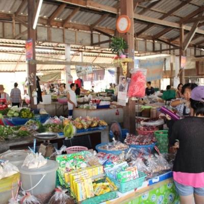 Hmong hill market