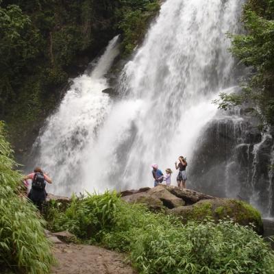 Hiden waterfall