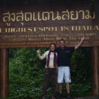Highest mountain of Thailand
